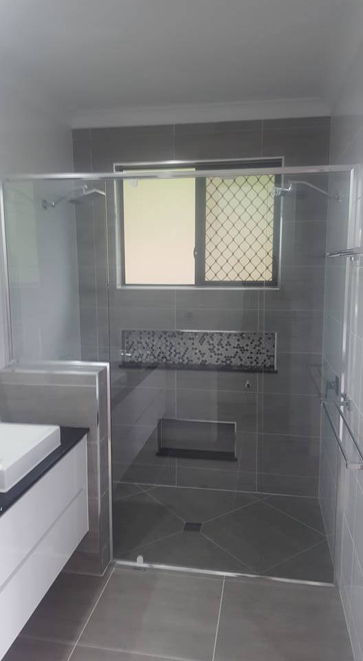A completed bathroom renovation in Townsville