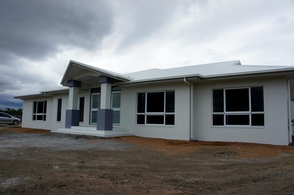 A new home built in Townsville