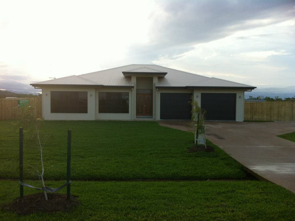 A new build house in Townsville